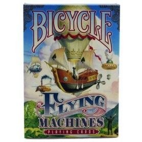Flying Machines playing cards
