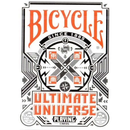 Bicycle Ultimate Universe Grayscale Edition