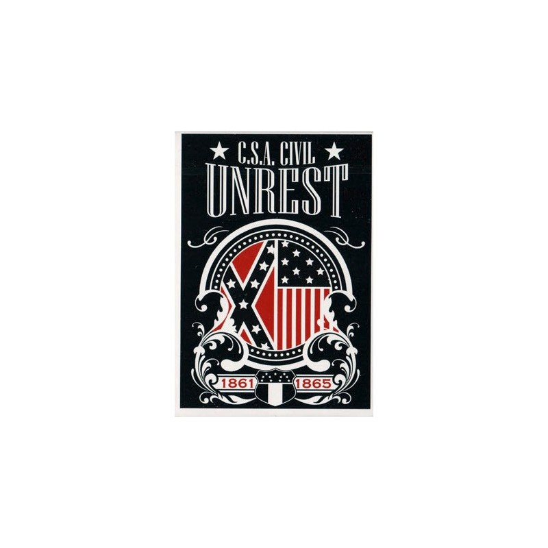Bicycle C.S.A Civil Unrest Deck (Limited Edition / Confederate)