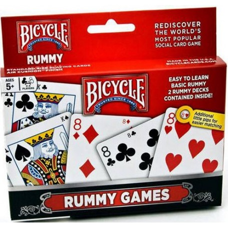 Bicycle  Rummy Set