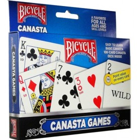Bicycle Canasta Set