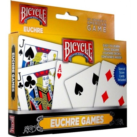 Bicycle Euchere Set