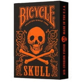 Bicycle Skull Metallic