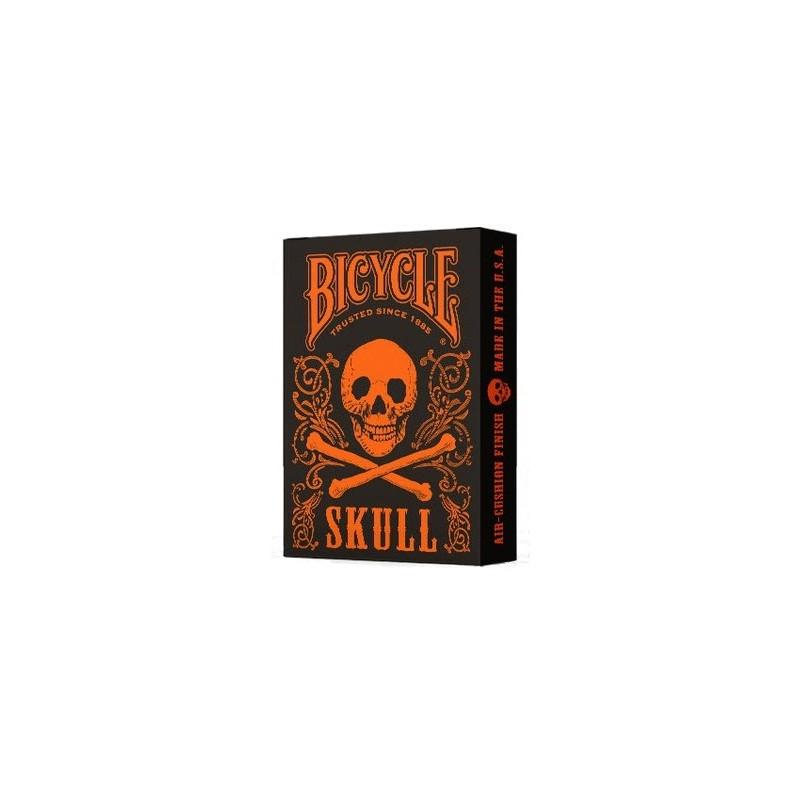 Bicycle Skull Metallic