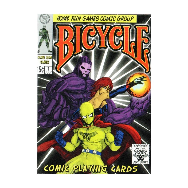 Bicycle Comic playing cards