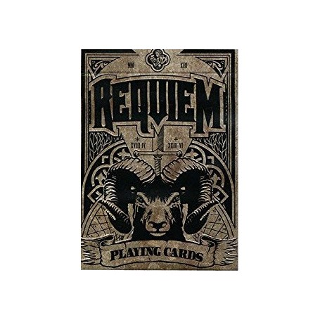 Requiem (Autumn) playing cards