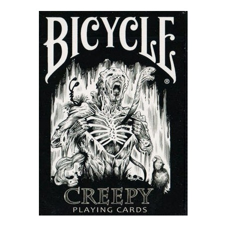 Creepy playing cards