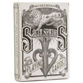 David Blaine's Split Spades (Silver Edition)