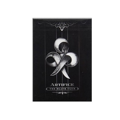 Artifice The Black Club playing cards