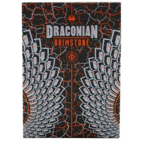 Draconian Brimstone playing cards