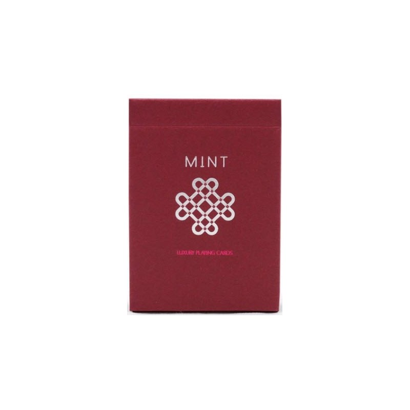Raspberry Mint Playing Cards