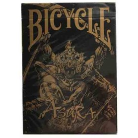 Bicycle Asura playing cards: Black Gold Edition