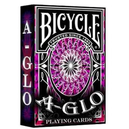 A Glo playing cards (red)