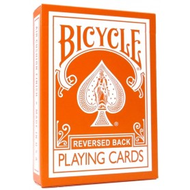 Bicycle Reversed Back Orange