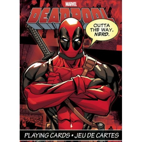 USPCC Deadpool playing cards