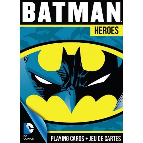 USPCC Batman Heroes playing cards
