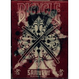 Bicycle Samurai Deck V3 Red