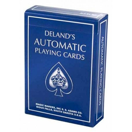 DeLands, The Automatic Deck-Blue Edition (Marked)