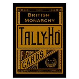 Tally Ho  British Monarchy playing cards