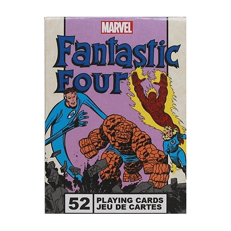 USPCC Fantastic Four playing cards