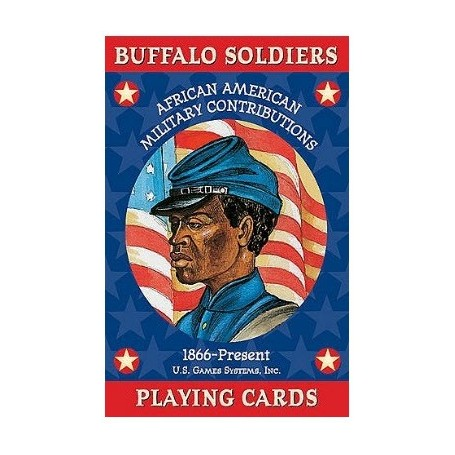 Buffalo Soldier playing cards