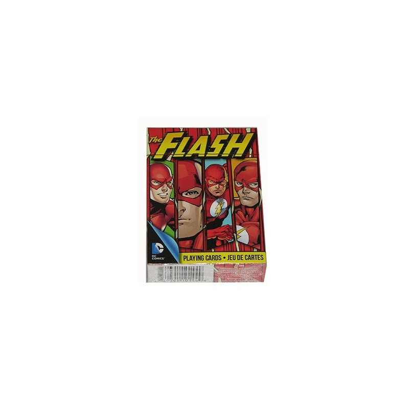 Flash DC playing cards