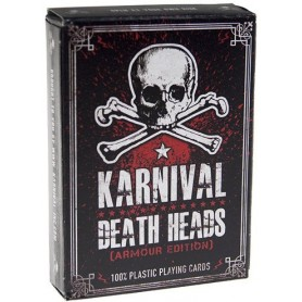 Karnival Death Heads (plastic Cards)