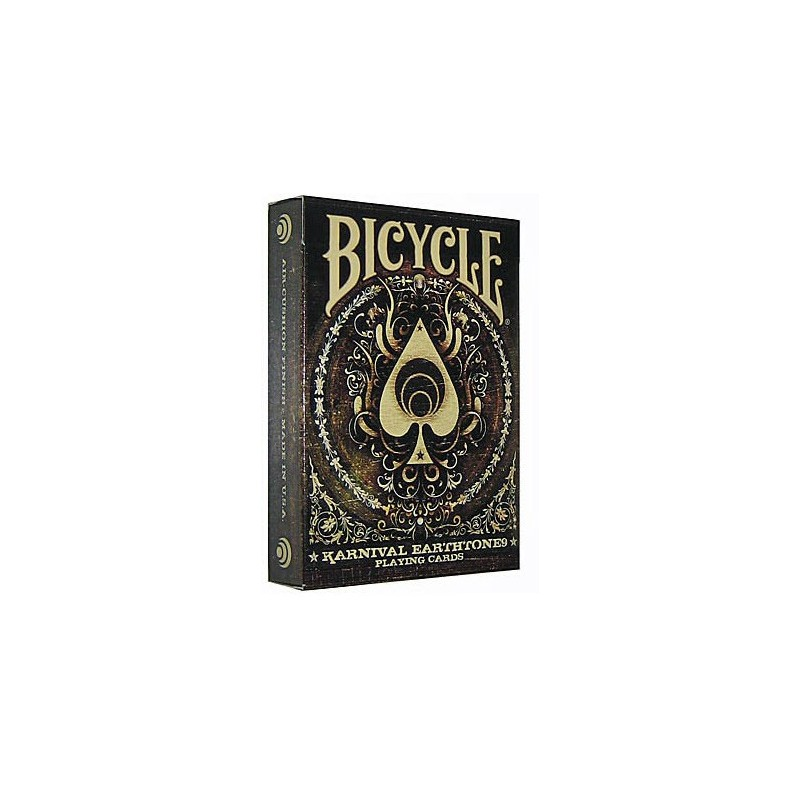 Bicycle Karnival earthtone9 Playing Cards