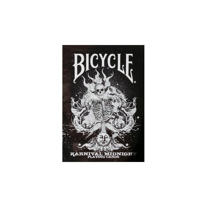Bicycle Karnival Midnights Playing Cards