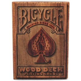 Bicycle Wood Rider Back