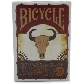 Plugged Nickel Playing Cards (Rusted Tin Deck)