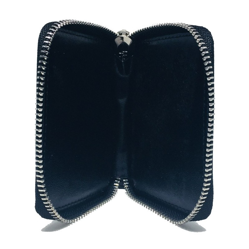 Zipper playing card case (Leather)