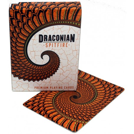 Draconian Spitfire playing cards