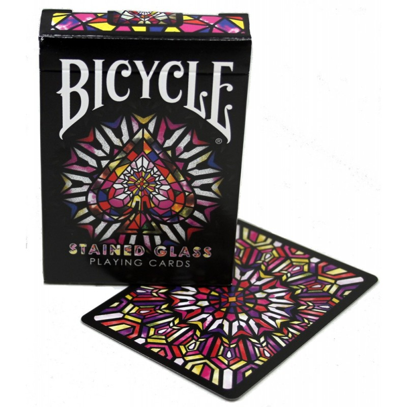 Bicycle Stained Glass