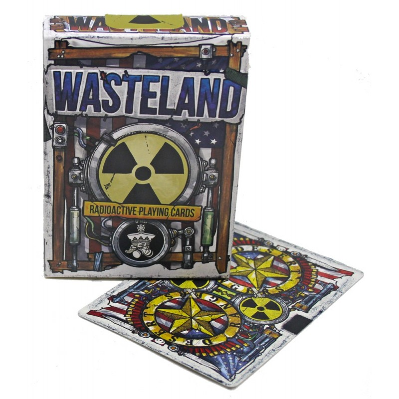 Wasteland Radioactive playing cards