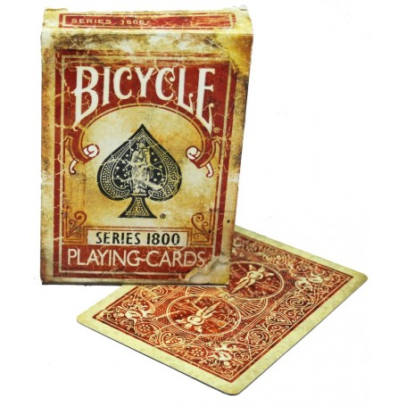 Bicycle  Marked Vintage 1800 playing cards