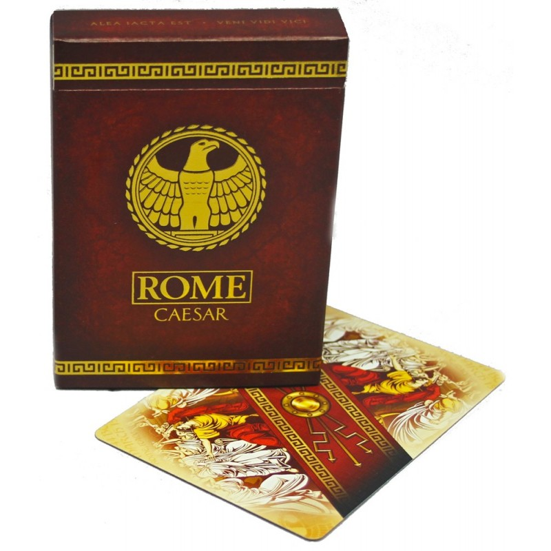 Rome playing cards (Caesar Edition)