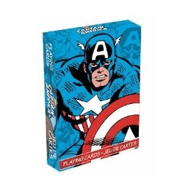 USPCC Captain America playing cards