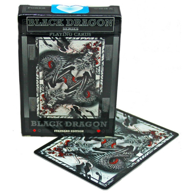 Black Dragon playing cards