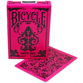 Bicycle Nautic Pink Back playing cards