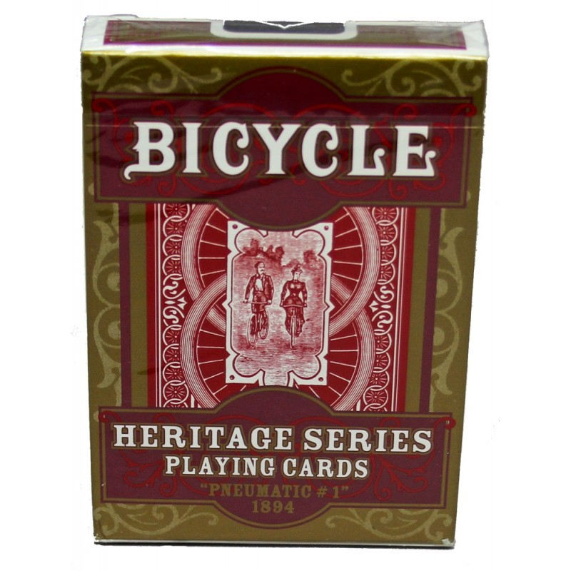 Bicycle Pneumatic No1 1894 Heritage Series Bicycle Playing Cards