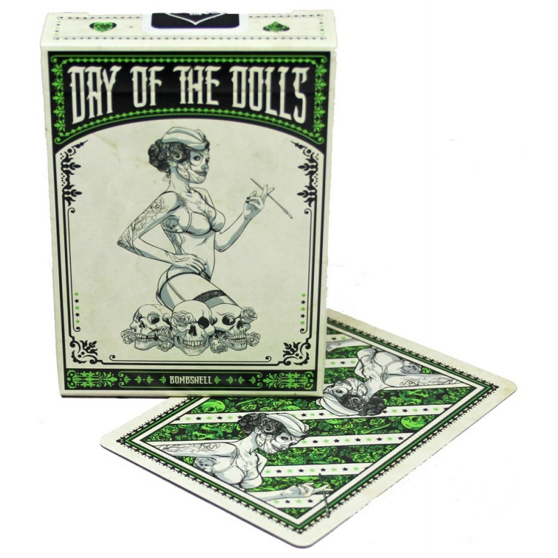 Day of the Doll Bombshell playing cards