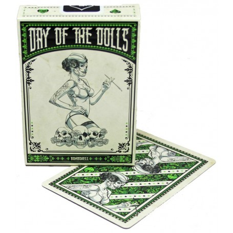 USPCC Day of the Doll Bombshell playing cards
