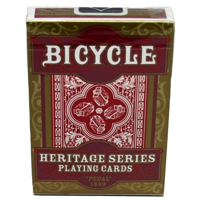 Bicycle Pedal 1899 Heritage Series Bicycle Playing Cards