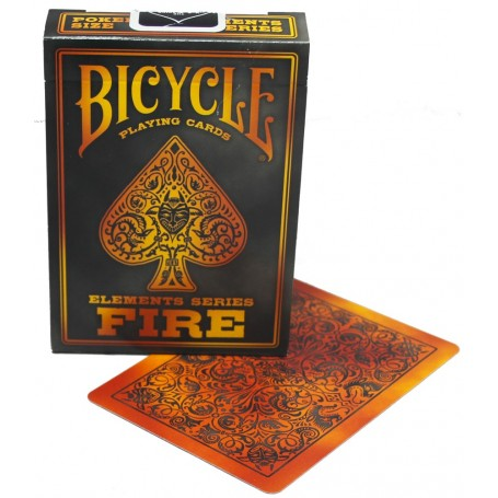 Fire playing cards