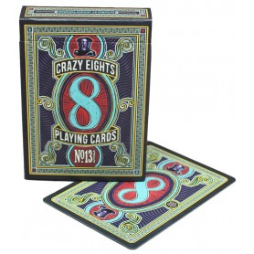 Crazy Eights playing cards