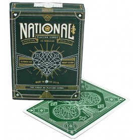 USPCC Green National playing cards