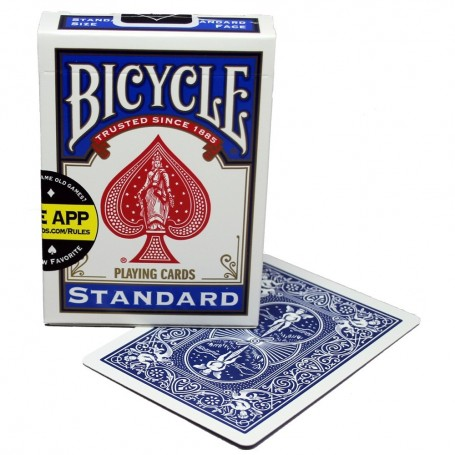 Bicycle Blue Stripper Deck (Standard)