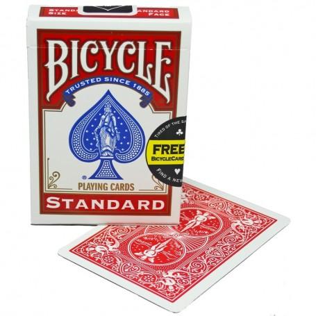 Bicycle  Red Stripper Deck (Standard)