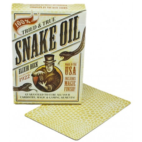 USPCC Snake Oil Elixir playing cards